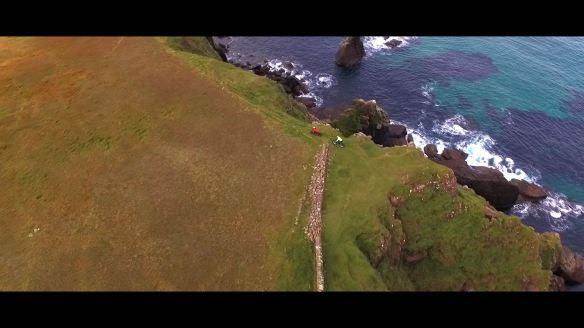 Cape wrath cliff ride 3