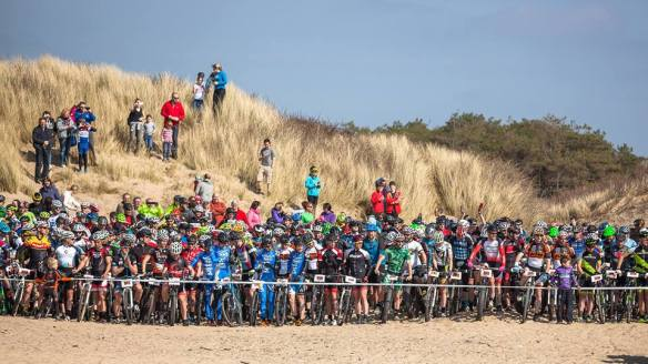 battle on the beach start line